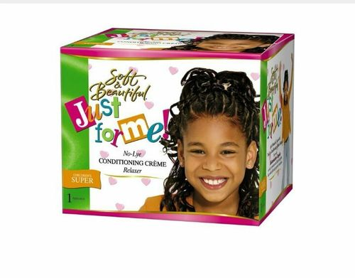 Soft & Beautiful Just For Me- No Lye Conditioning Relaxer, CHILDRENS SUPER