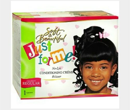Soft & Beautiful Just For Me- No Lye Conditioning Relaxer, CHILDRENS REGULAR