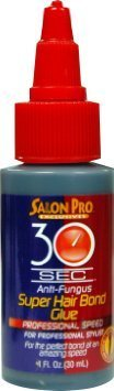Salon Pro- 30 Sec Anti-Fungus Super Hair Bond Glue 118ml
