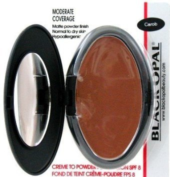 Black Opal- Creme to Powder Foundation 9.1g, 10 CAROB