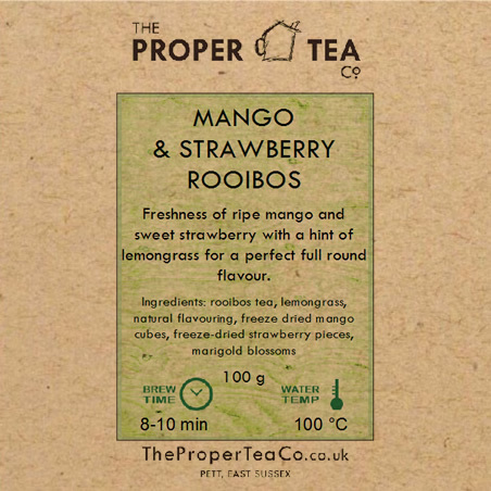 Mango & Strawberry Rooibos