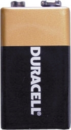 Duracell Batteries 9V x 1