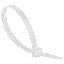 Cable Ties Natural 160 x 4.8mm Natural PACK 100