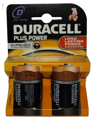 Duracell D Batteries (6)