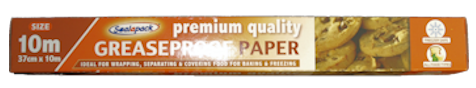 Greaseproof Paper 37cm x 10m (6)