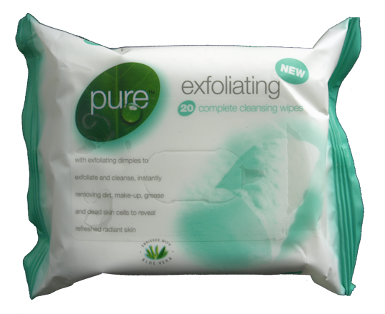 20 x  Exfoliating Wipes (6)