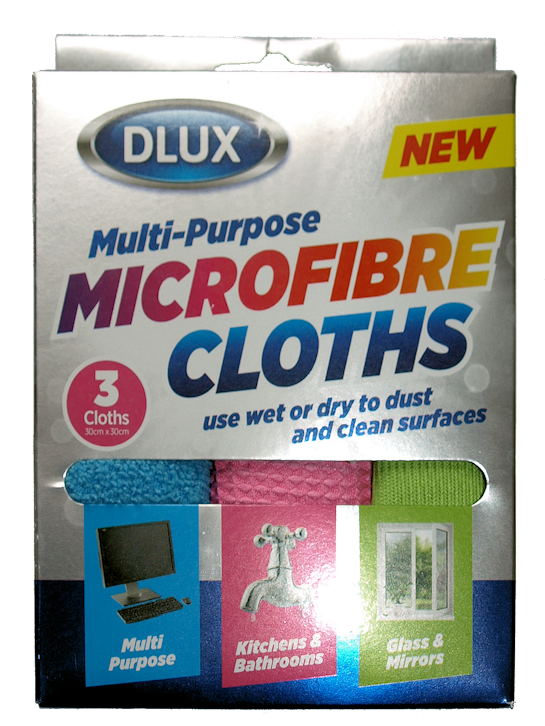 3pk Microfibre Cloths (6)