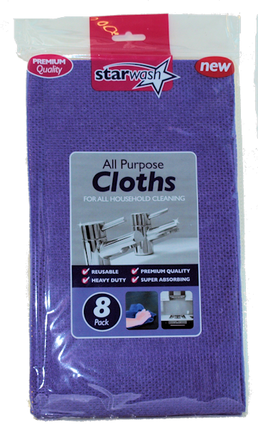 8pk All Purpose Cloth (6)