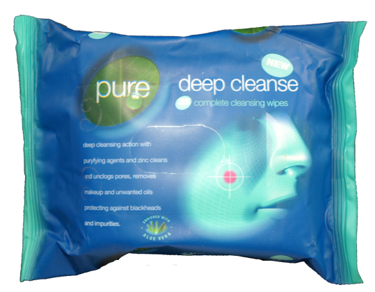 25 x Deep Cleanse Wipes (6)