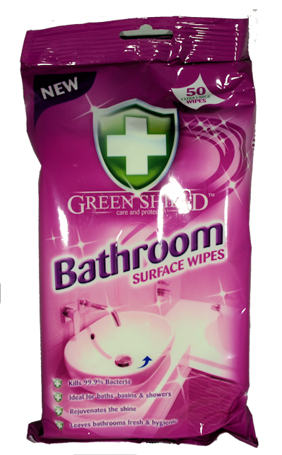 Greenshield Bathroom Wipes x 50