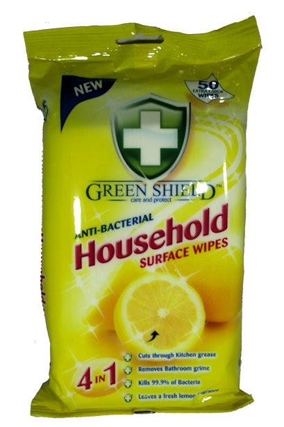 Greenshield Household Wipes x 50