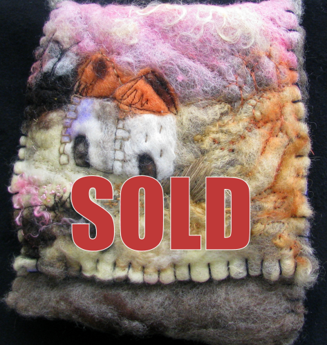 Felted Bag Two Towers