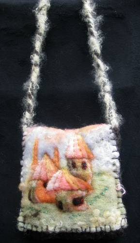 Felted Bag Enchanted Towers