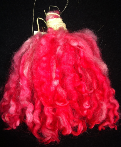North Country Mule Doll Hair Red 25g