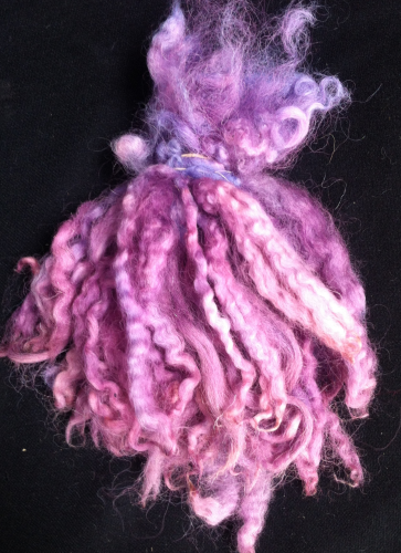 North Country Mule Doll Hair Purple 25g