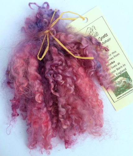 Groovy Goats Pink Fizz Mohair Reborns and Doll Making