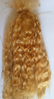 Premium Yearling Light Golden Brown Mohair for Reborns and Doll Making