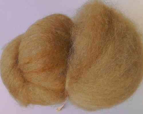 Texal Bear Brown Carded Wool 50g