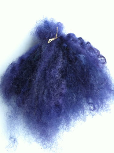 Premium Mohair Brights - Purple  for Reborns and Doll Making