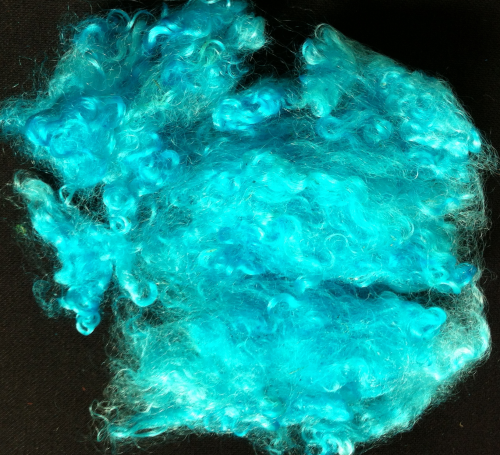 Ethical Mohair Fleece Turquoise