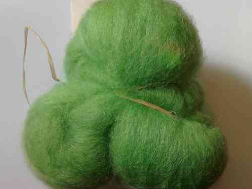 Texal Moss Green Carded Wool 50g