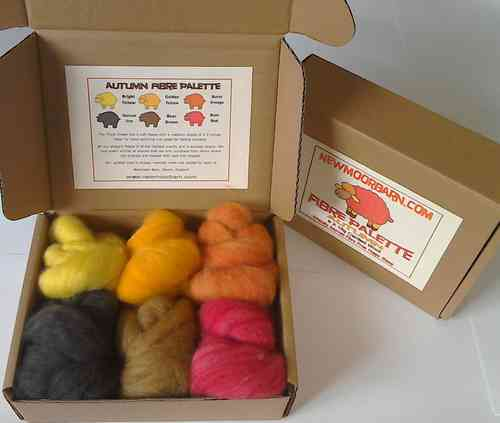 Autumn Colour Pallete Texal Wool 6 X 15g