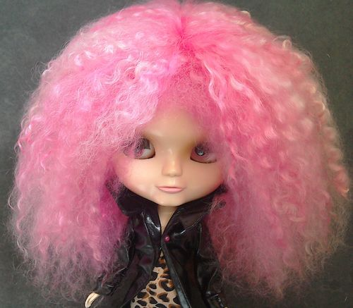.Blythe Pink Flash - Bright Pinks Mohair
