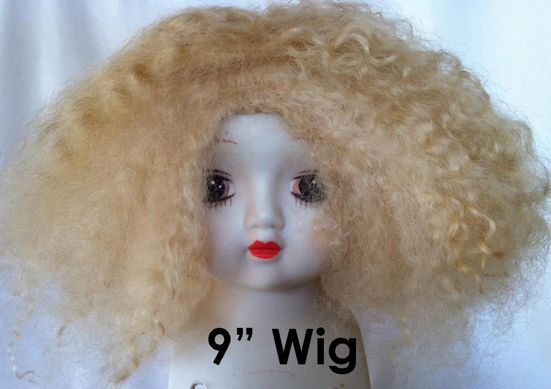 labelled_Light_Golden_Blonde_Mohair_9_inch_Wig