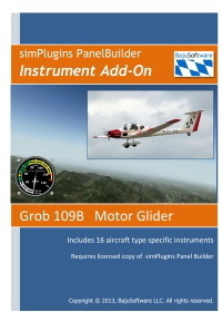 Panel Builder Instrument Add-on Grob 109B 2.99- Download