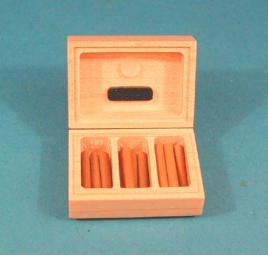 Cigar Case with Cigars