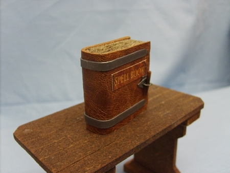 Spell Book with Metal Trim