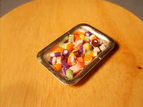 Tray of Dolly mixtures