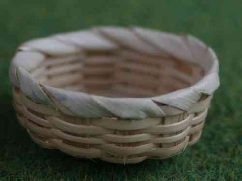 Shallow Round basket