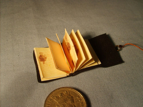 Leather Notebook with Contents