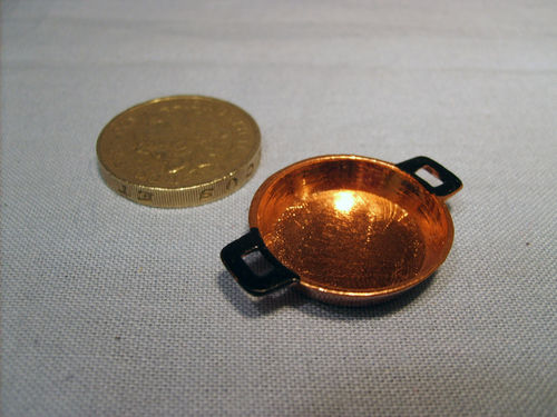 Flat Copper Pan - small