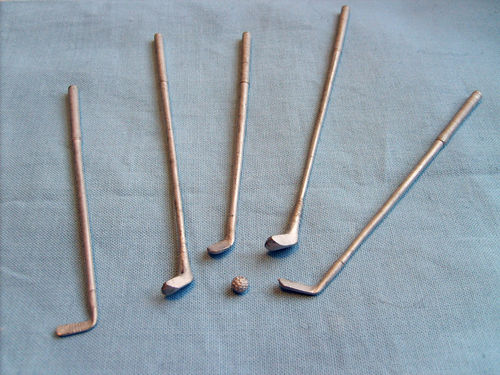 Set of Golf Clubs - unpainted