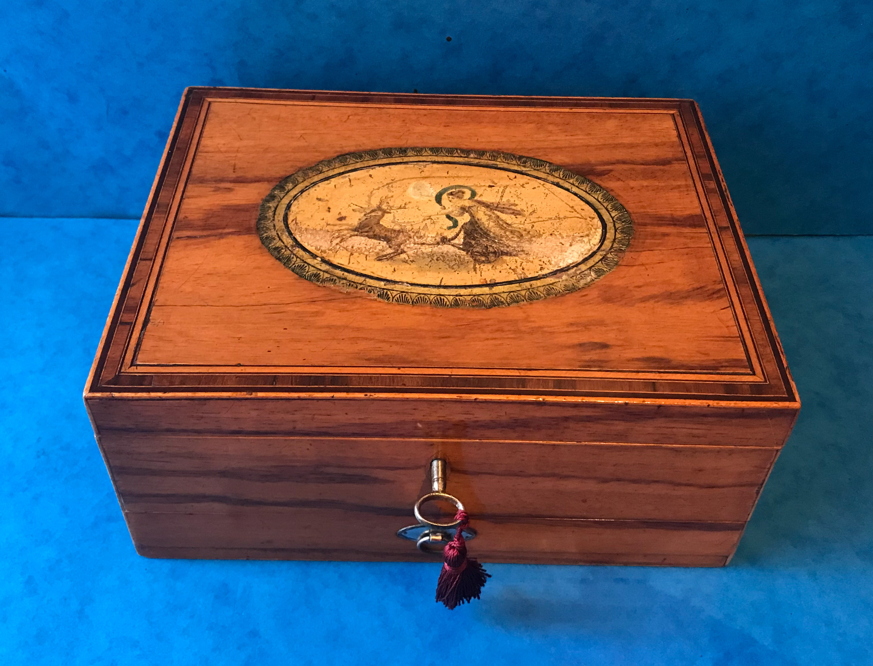 Regency Period Sewing Box