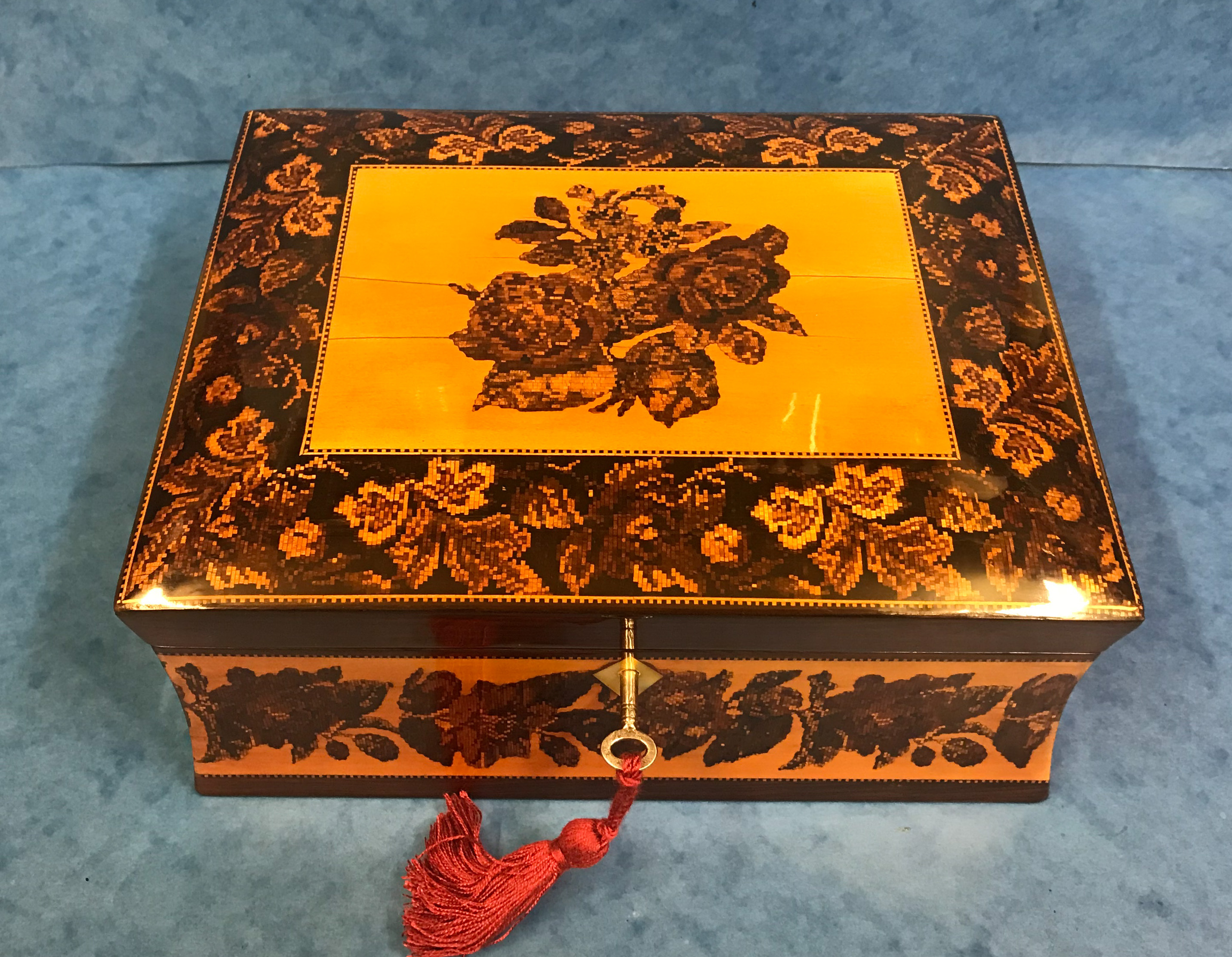 Beautiful Tunbridge Ware Box