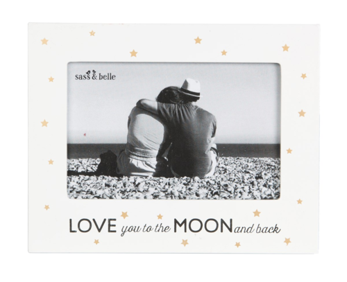 'Love you to the moon and back' Frame