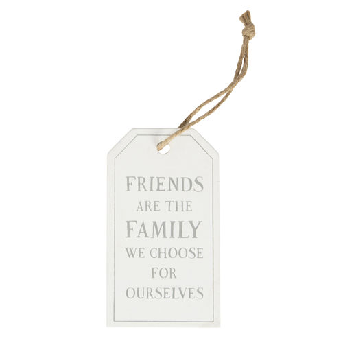'Friends are the family we choose' Tag