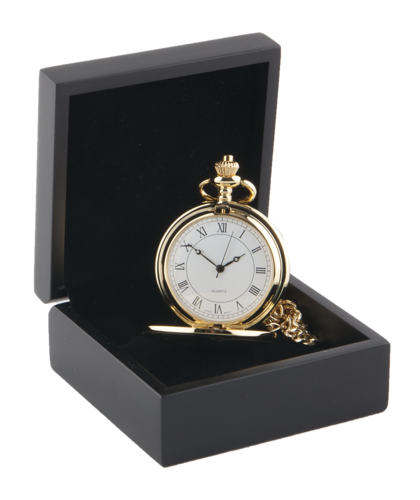 Full Hunter Gold Colour Pocket Watch