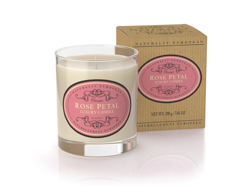 Rose Petal Scented Luxury Candle