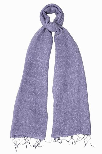 Pale Grape Speckled Scarf