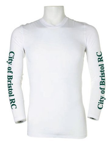 City of Bristol RC White Baselayer