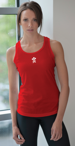 Welsh Team Women's Vest