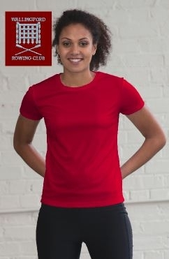 WRC Women's Red Tech T-Shirt