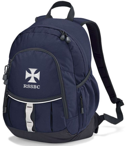 RSSBC Navy Backpack