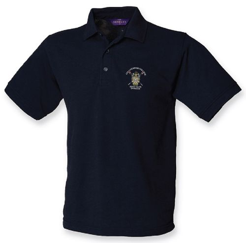 Collingwood College BC Men's Navy Polo Shirt