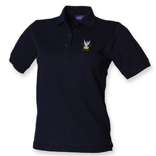CSRC Women's Navy Polo Shirt