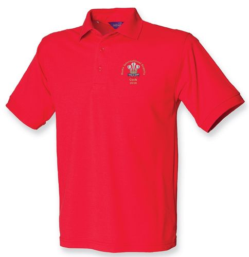 Wales HIR 2018 Men's Polo Shirt